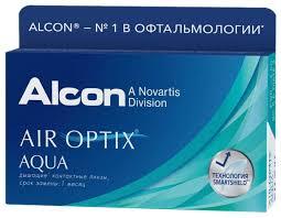 Купить Контактные линзы Air Optix (Alcon) Aqua (6 линз) R 8,6 D ...
