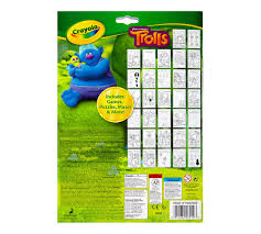 Small Picture Coloring Activity Book Trolls Crayola