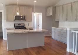 Grey Stained Kitchen Cabinets Dark Grey Stained Kitchen Cabinets And Wooden Floor Kitchen