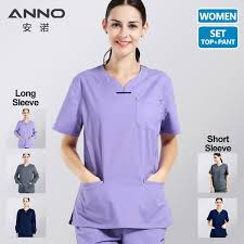 <b>ANNO</b> Summer Women <b>Medical Clothing Hospital Scrubs</b> Nurse ...
