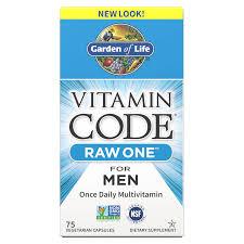 <b>Vitamin Code Raw One</b> For Men 75ct Capsules | Garden of Life UK
