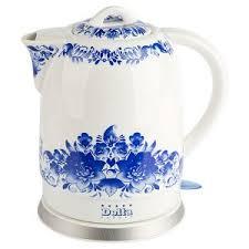 Керамический электрический <b>чайник Delta DL-1233B</b> купить по ...