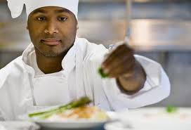 Male African American Chef