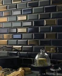 subway tiles tile site largest selection: beveled subway tile in dark amp metallic glazes is fabulous via filmore clark for