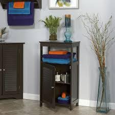 bathroom floor cabinets storage