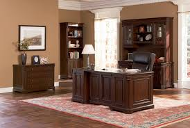 home office the seaview classic paneled wood desk home office furniture set in medium walnut finish ba 1 4 ros google office