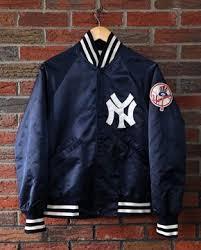Vintage 70's / 80's <b>New York</b> Yankees Starter Satin <b>Jacket</b> SZ S ...