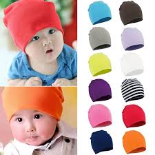 <b>13 Colors</b> Baby Infant Toddler Soft Cotton Beanie Hat Autumn ...