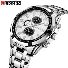 <b>CURREN</b> Men Analog <b>Military</b> Sports Watch Luxury <b>Casual Quartz</b> ...
