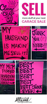 best ideas about garage signs yard how to advertise for a garage clever signs