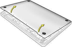 MacBook Pro: Bottom <b>case</b> foot <b>replacement</b> DIY instructions - Apple ...