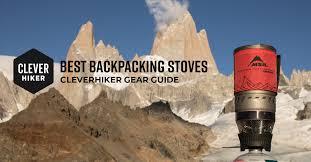 10 Best Backpacking Stoves of 2021 — CleverHiker
