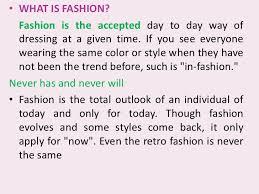 fashion ltbr gt  what is fashion