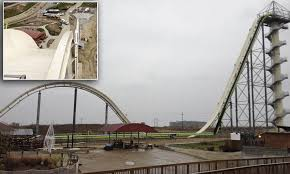 World's tallest water slide 'Insane' will open next year | Daily Mail ...