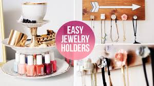 Easy <b>DIY Jewelry</b>/<b>Accessory</b> Organizers | LaurDIY - YouTube