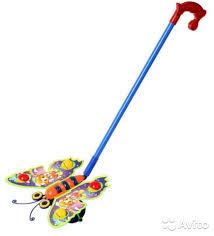 <b>Каталка на палочке</b> «Бабочка» купить в Липецкой области на ...