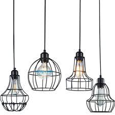 unique metal base cage light pendant premium wonderful suitable for interior design sweet home living room cage pendant lighting