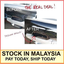 4pcs car door handle scratch protector cover guards auto sticker automobile carbon fiber vinyl wrap film truck exterior trim