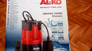 Обзор погружного дренажного <b>насоса</b> для грязной воды <b>AL</b>-<b>KO</b> ...