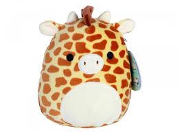 Купить Мягкая <b>игрушка</b> - сквиш <b>антистресс Squishmallows</b> Жираф ...