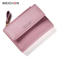 $13.5 - Cool <b>WEICHEN Hasp & Zipper</b> Short Standard Wallet, Hot ...