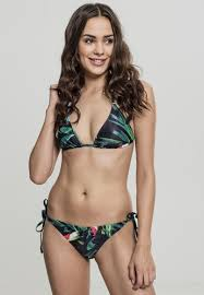 <b>Купальник URBAN CLASSICS Ladies</b> Tropical Bikini Leaf ...