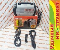 <b>Инвертор сварочный Ресанта САИ 190 ПН</b>, 10-190 А, электрод 1 ...
