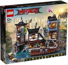<b>LEGO NINJAGO</b> 70657 <b>Порт</b> Ниндзяго <b>Сити</b> Конструктор ...