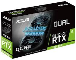 <b>Видеокарта ASUS DUAL GeForce</b> RTX 2060 SUPER 1470MHz ...