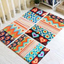 set fashion bathroom carpet pcs set fashion new mat pretty coral fleece carto