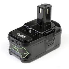 <b>Аккумулятор</b> для Ryobi. <b>18V 4.0</b>Ah (<b>Li</b>-Ion) PN: <b>RB18L40</b> — купить ...