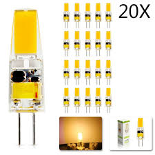 20Pcs/lot 2018 <b>new G4</b> AC DC 12V <b>Led bulb Lamp</b> Dimmable SMD ...