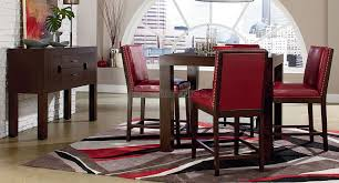 Red Dining Room Sets Red Dining Rooms On Bestdecorco