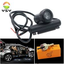 YSY <b>2pcs Led Car Door</b> Welcome Laser Projector Logo Ghost ...