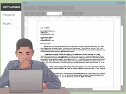 how to write an email of interest for a job steps