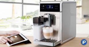 <b>Умная кофеварка</b> Saeco, которая дружит с iPad