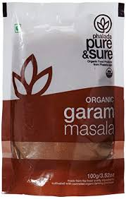 Pure & Sure <b>Organic Garam Masala</b>, 100g: Amazon.in: Grocery ...