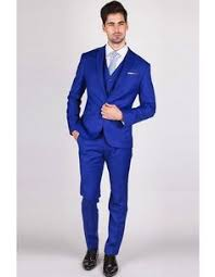 2016 Hot sale <b>Custom made Royal Blue</b> Groom Tuxedos Notched ...