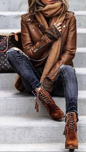 .Leather Jacket, blue <b>jeans</b>, & boots. Fashion leather articles at 60 ...