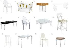 lucite theres a ghost in my house acrylic lucite furniture