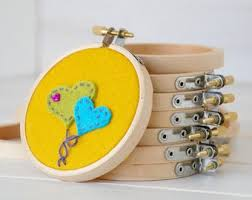 <b>Mini embroidery</b> hoop | Etsy