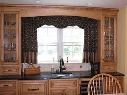 diy kitchen window treatment idea
