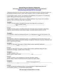 functional resume objective template functional resume objective
