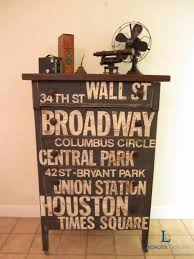 diy chalk paint furniture ideas with step by step tutorials nyc subway sign dresser chalk paint colors furniture ideas