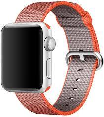 <b>Ремешок Apple Nylon Band</b> для Apple Watch 38 мм оранжевый ...