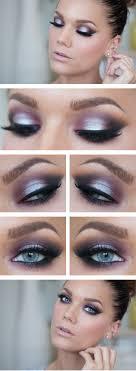 eye purple silver