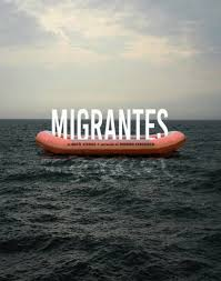 """Resultado de imagem para fotos ou imagens da peça de teatro """"Migrantes"""""""