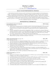 sample resume for real estate agent sample resume for real estate agent karina m tk