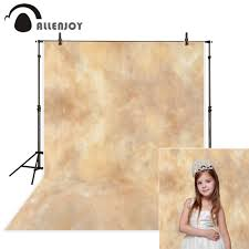 <b>Allenjoy</b> background photography brown pure <b>solid color</b> muslin ...