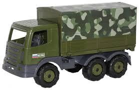 <b>Грузовик Полесье</b> военный <b>бортовой тентовый</b> Престиж (49148 ...